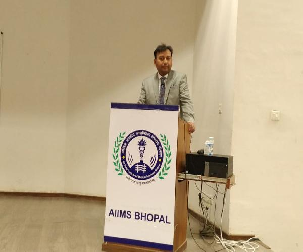 Invited by AIIMS Bhopal